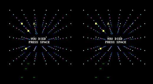 Gridfighter 3D, VR novinka pro DOS