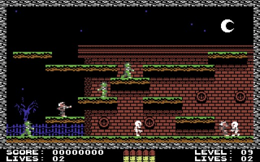 Guns 'n' Ghosts, novinka pro Commodore 64