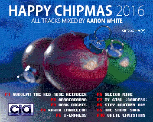 Happy Chipmas 2016, Amiga chiptunes disk