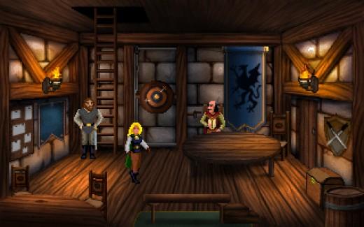 Heroine's Quest, indie RPG adventura