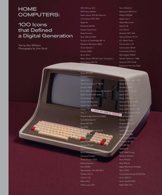Něco do knihovničky: Home Computers – 100 Icons that Defined a Digital Generation