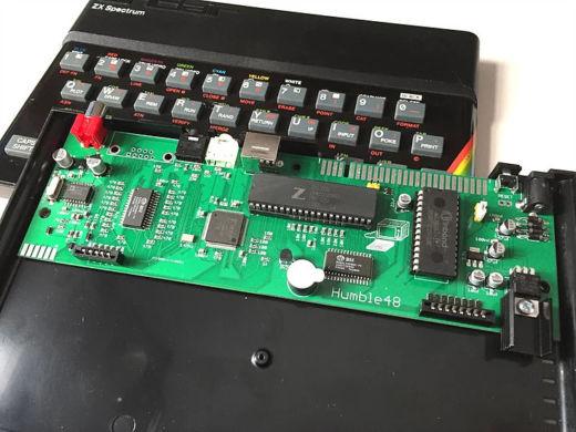 Humble48, skromný klon ZX Spectra