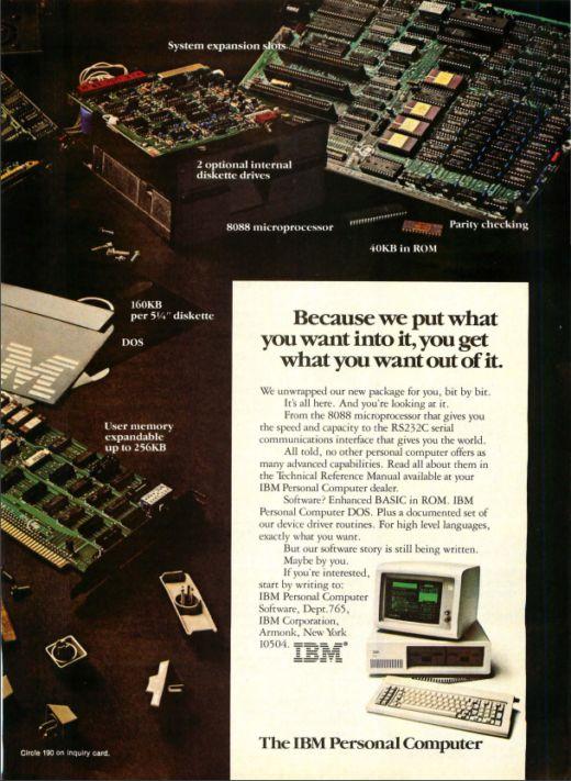 40 let s IBM PC