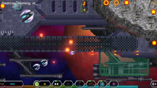Iridium: zahrajte si demo nové indie hry inspirované klasikou Uridium