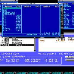 IT Manager, pozapomenutý správce souborů pro DOS?