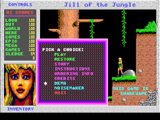 Jill of the Jungle: The Complete Trilogy zdarma na GOG