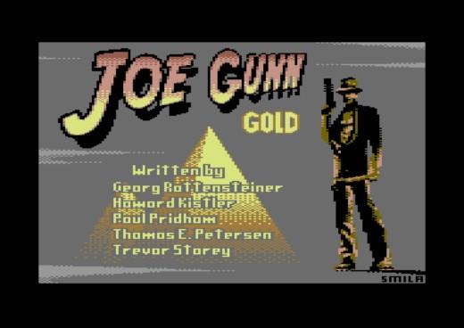 Joe Gunn Gold Edition, hádanková akce pro Commodore 64
