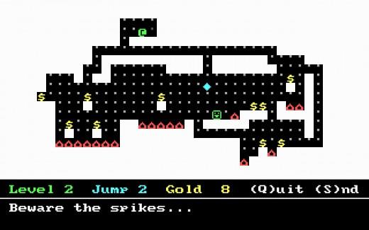NumJump, logická novinka pro DOS