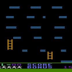 Jumpman pro osmibitové počítače Atari rozpitván a rozšířen