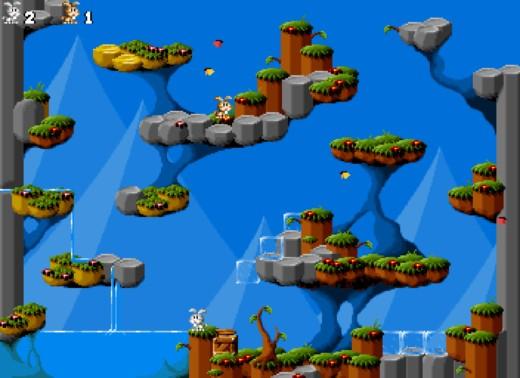 Jump 'n Bump Remastered, vylepšená verze DOSové multiplayerové řežby