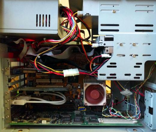 AMD K6-III+ a Voodoo 3 3000