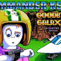 Commander Keen 4 v 16 barevné CGA grafice