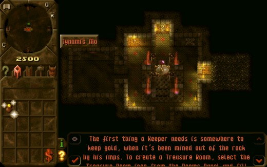 Dungeon Keeper: You have summoned a Horned Reaper!