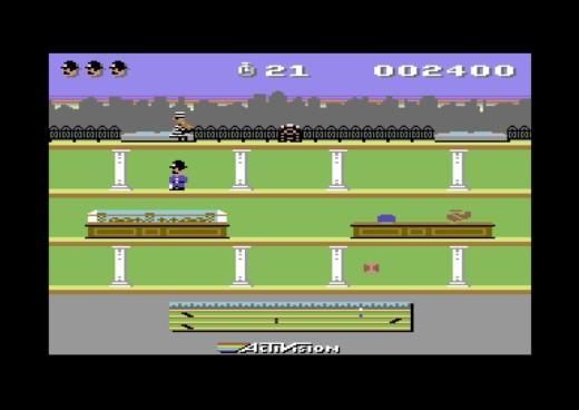 Keystone Kapers & Chopper Command, novinky pro Commodore 64