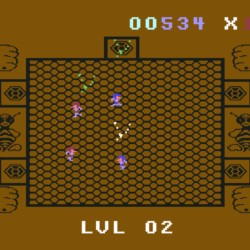 Killer Bees, port z Odyssey 2 / Videopac+ G7400 na Commodore 64