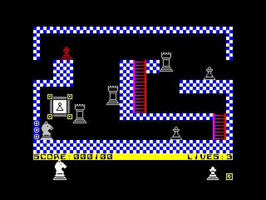 Knight Hero, šachy inspirovaná novinka pro ZX Spectrum