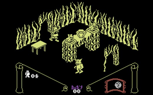 Knight Lore pro Commodore 64