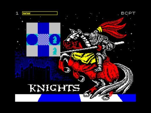 Knights, logická hříčka pro ZX Spectrum