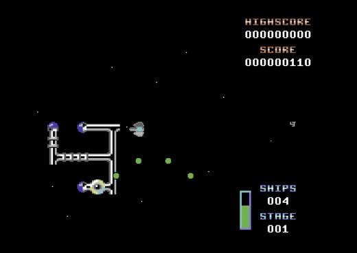 Kobo64, vesmírná střílečka pro C64