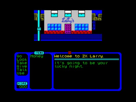ZX Larry, remake Leisure Suit Larry pro ZX Spectrum