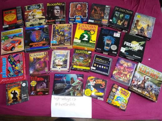 Fotovýzva s odměnou: vyfoťte herní krabici a vyhrajte… inu, jinou herní krabici :) #hvretrofoto