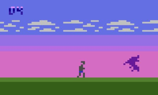 Legacy of the Beast, demake Shadow of the Beast pro Atari 2600!