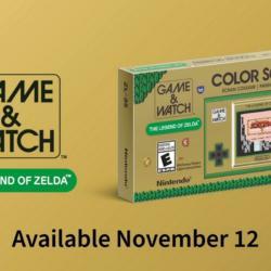 Nová konzole od Nintenda – Game & Watch: The Legend of Zelda