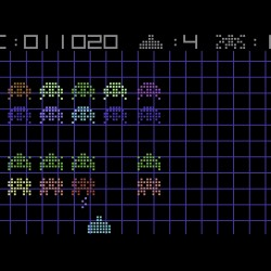 Let's Invade!, nová variace na Space Invaders pro Commodore 64