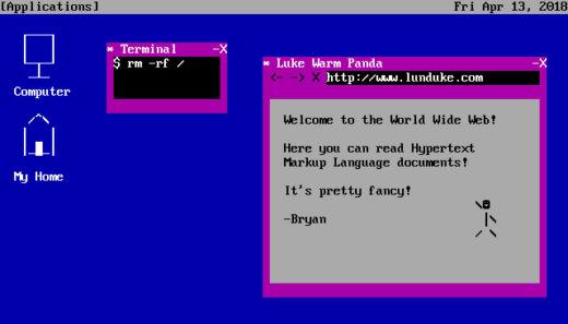 Linux Tycoon 2, strategická novinka pro DOS