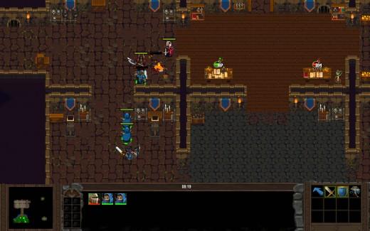 Zahrajte si demo retro real-time strategie Loria