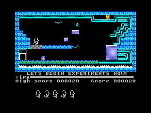 Lost In Worlds, nová hopsačka pro ZX Spectrum