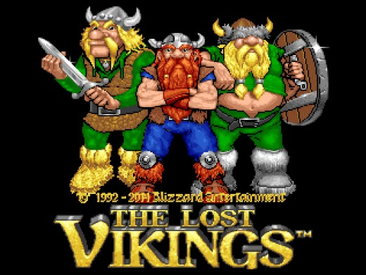 The Lost Vikings a Rock N' Roll Racing zdarma