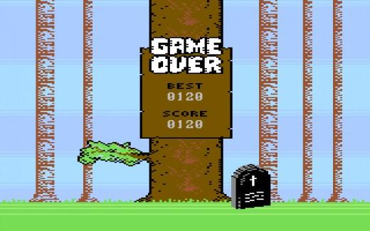 Lumberjack, nová hra pro Amigu