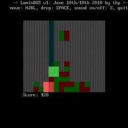 LuminDOS, nová logická hra pro DOS