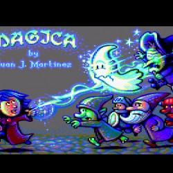Magica, nová hopsačka pro Amstrad CPC