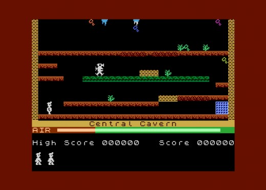 Manic Miner nově i pro pro Atari XL/XE