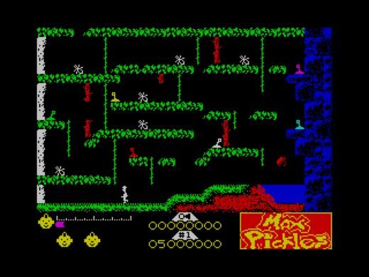 Max Pickles I: The Haunted Castle, logická skákačka pro ZX Spectrum