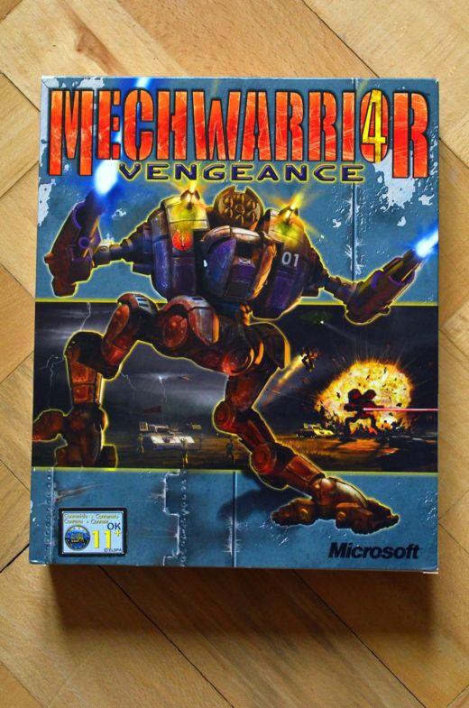 Krabice: Mechwarrior 4