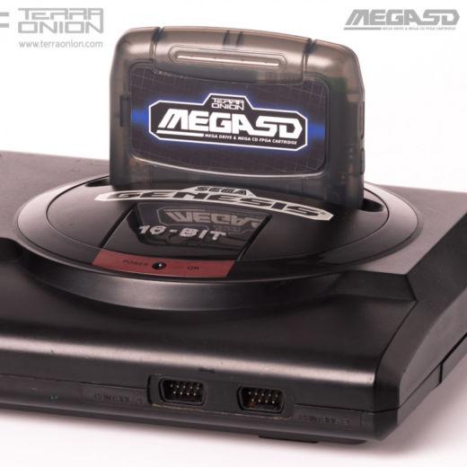 MegaSD, na FPGA založený simulátor SEGA Mega-CD