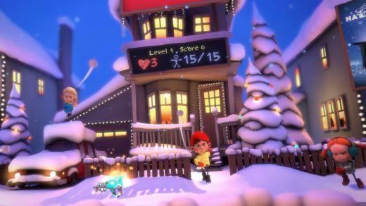 Merry Snowballs zdarma na Steamu