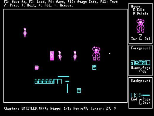 Motor Glory, CGA novinka pro DOS