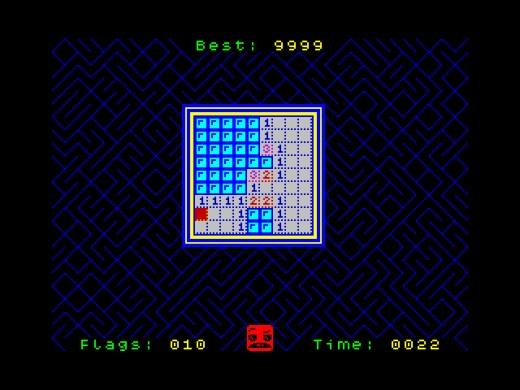 Minesweeper 16/48, logická klasika pro ZX Spectrum