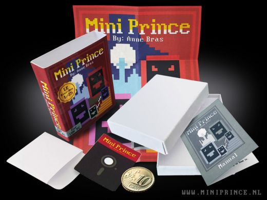 Mini Prince, demake Prince of Persia (DOS)
