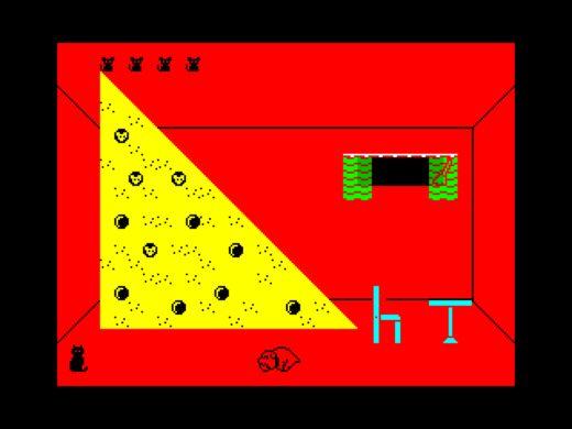 Misifu Remeow, Alley Cat pro ZX Spectrum