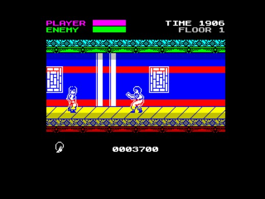 Mister Kung-Fu, nový Kung-Fu Master pro ZX Spectrum