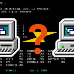 Retrodilema aneb Jak na přenos souborů mezi MS-DOSem a moderním systémem přes USB flash