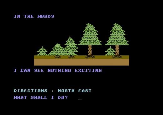 Murdlok, staronová textovka pro Commodore 64