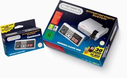 Nintendo Classic Mini hacknuto