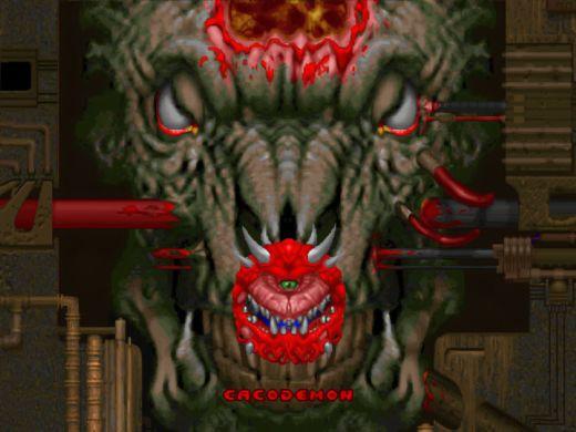 Doom Neural Upscale, umělou inteligencí vylepšený Doom