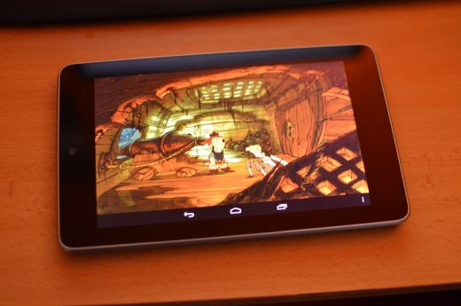 ScummVM na tabletu (Nexus 7)